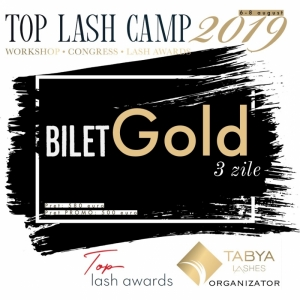 TOP LASH CAMP BILET GOLD