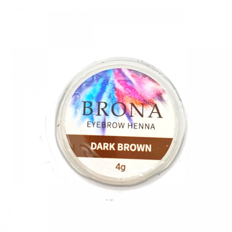 BRONA HENNA DARK BROWN 4g.