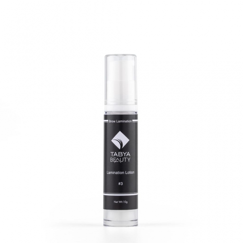 BROW TO WOOW #3 LAMINATION LOTION 10G.