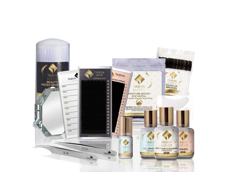BASIC KIT FOR EYELASH EXTENSIONS APPLICATION